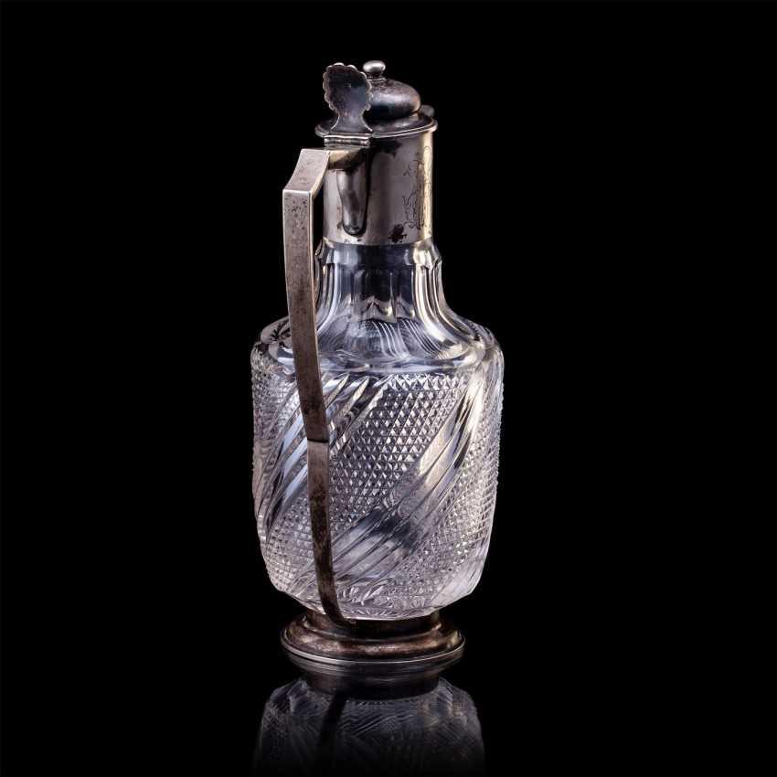 Russe de cristal carafe. Pétersbourg - photo 4