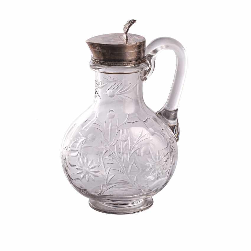 Russian crystal decanter. K. Linke - photo 1