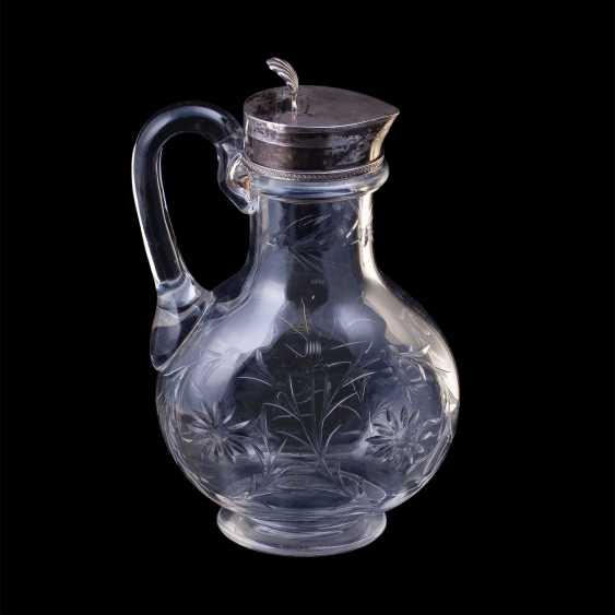 Russian crystal decanter. K. Linke - photo 2