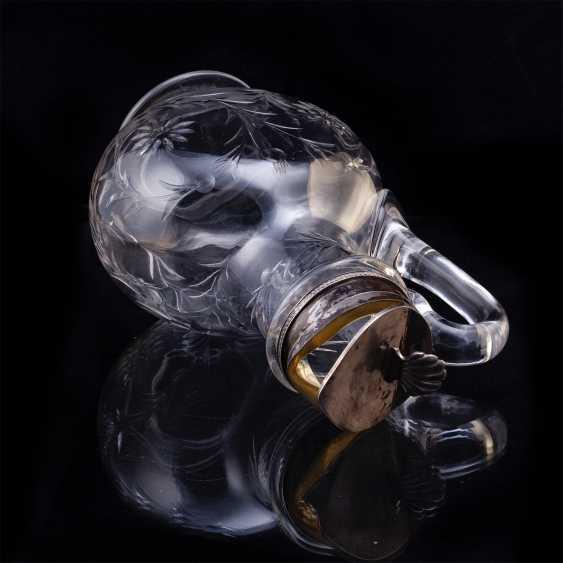 Russian crystal decanter. K. Linke - photo 5