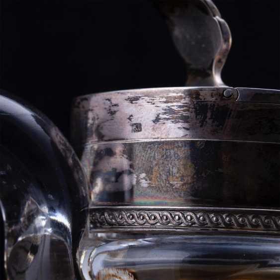 Russian crystal decanter. K. Linke - photo 6