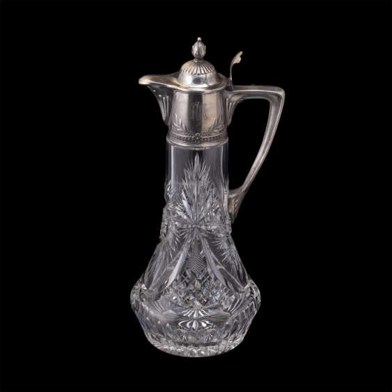 A large crystal decanter. Factory Lyubavina - photo 2
