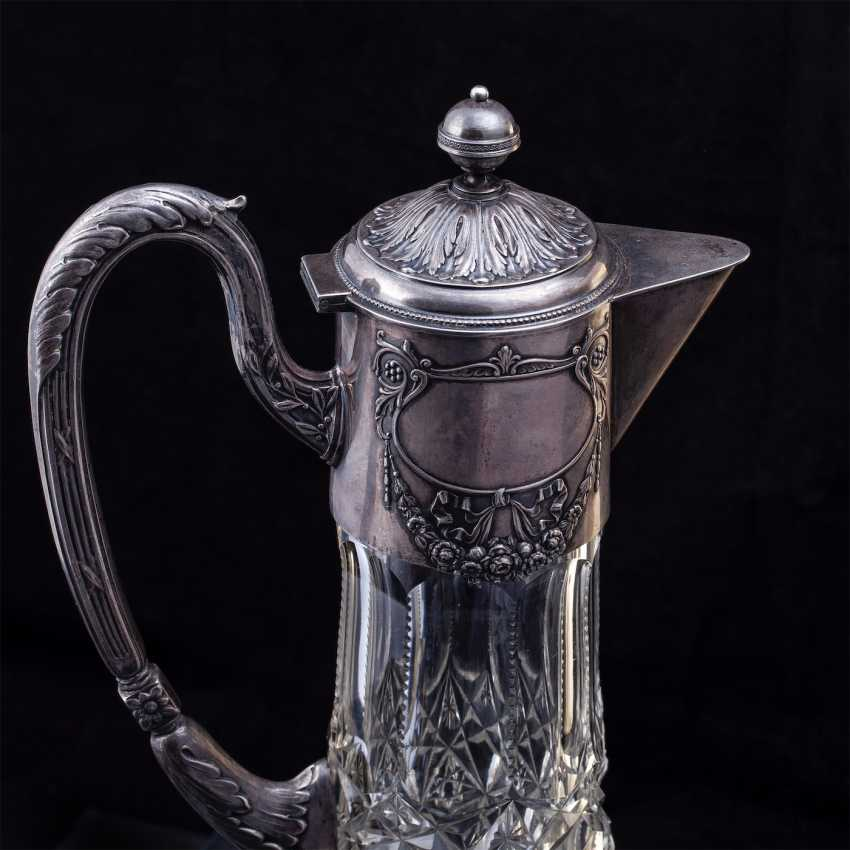 A large crystal decanter. Factory Khlebnikov - photo 3
