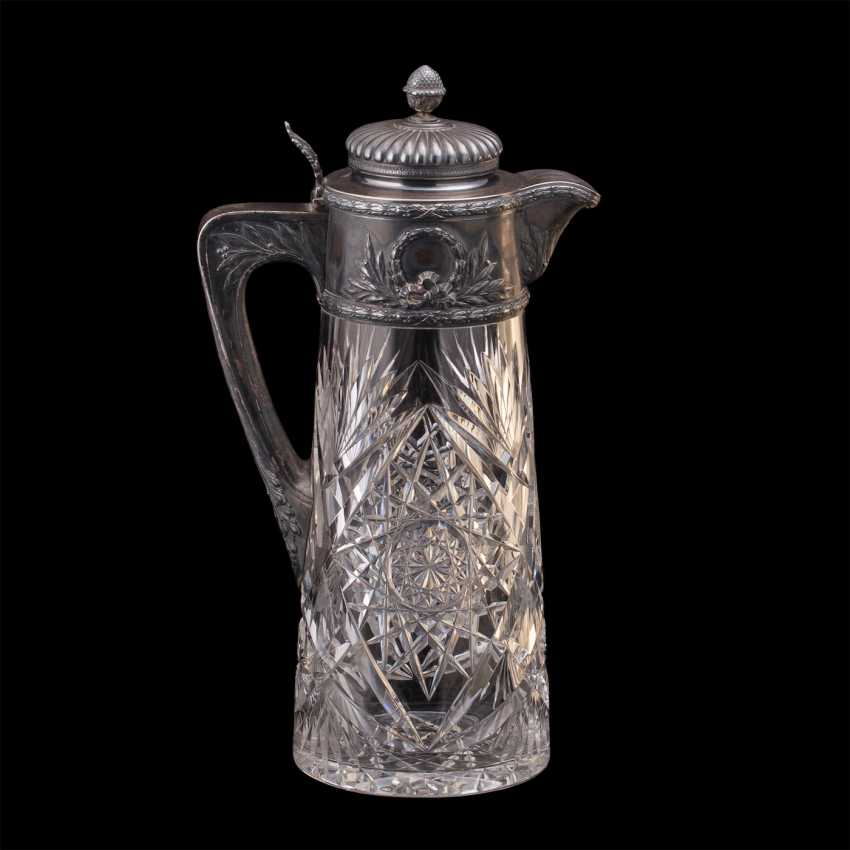A large crystal decanter. Factory Morozova - photo 1