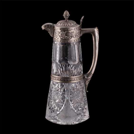 A large crystal decanter. Factory Morozova - photo 1