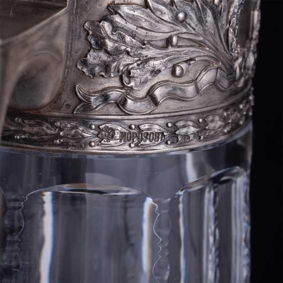 A large crystal decanter. Factory Morozova - photo 5