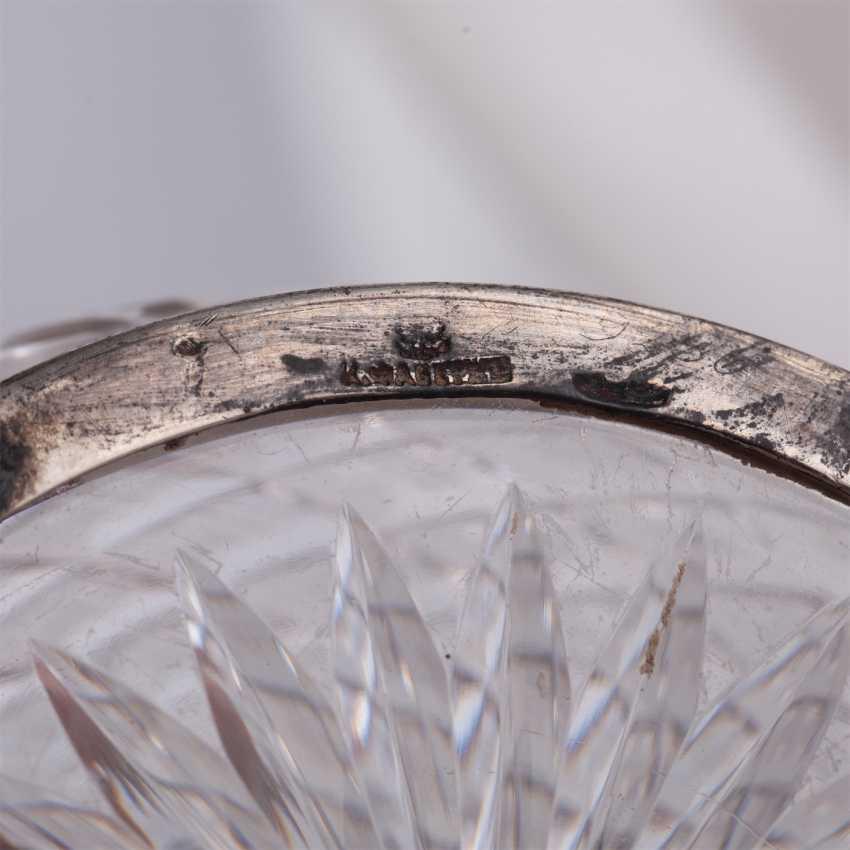 Crystal vase caviar with sturgeon. Faberge - photo 7