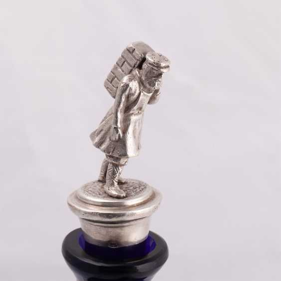 Bottle with finial in the form of man-dancer - photo 3