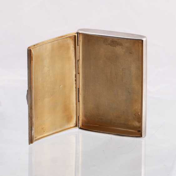 Russian silver cigarette case. Faberge - photo 3