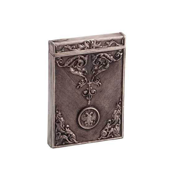 Complain silver cigarette case - photo 1