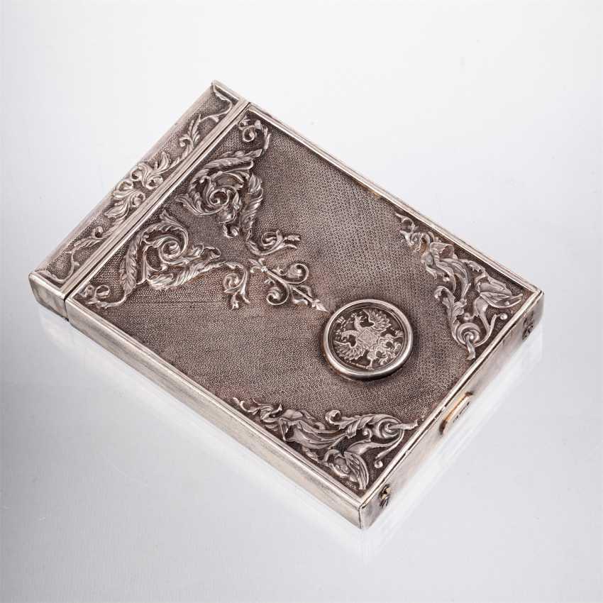 Complain silver cigarette case - photo 2