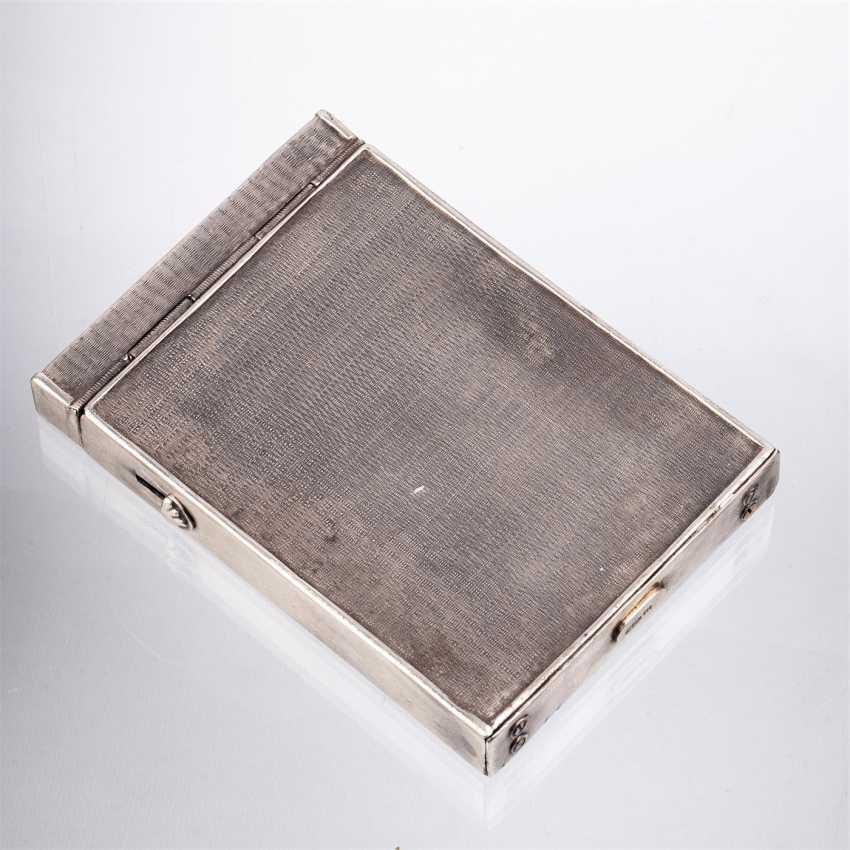 Complain silver cigarette case - photo 3