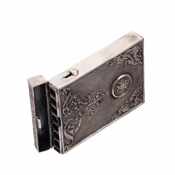 Complain silver cigarette case - photo 4