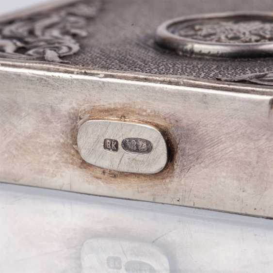 Complain silver cigarette case - photo 5