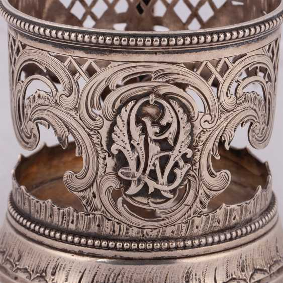 Russian silver Cup holder. Factory Morozova - photo 2
