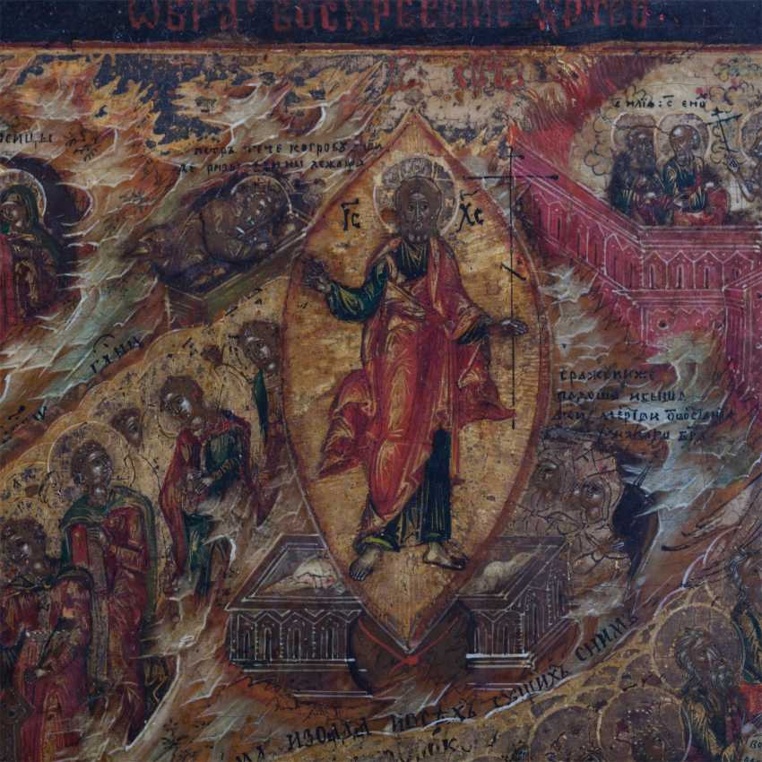"Russian icon ""Resurrection of Christ"" - photo 4"