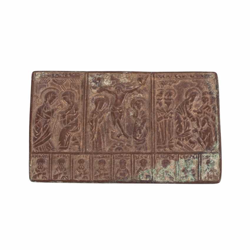 Rare plaquette, Russia, 16th century - photo 1
