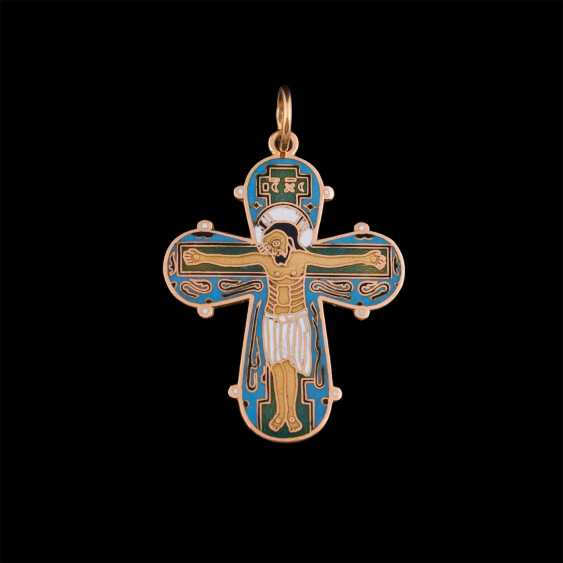 A gold pectoral cross - photo 3