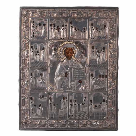 Hagiographical icon of St. Nicholas the Wonderworker - photo 1