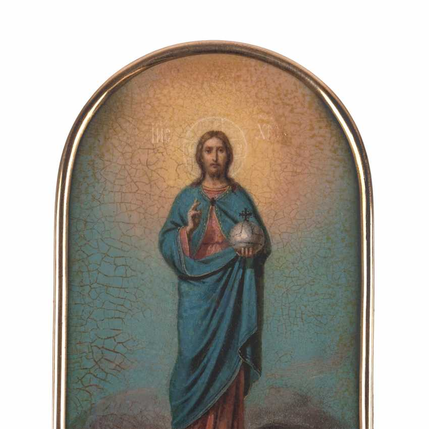 """Russian icon of """"Christ Reigning"""" - photo 6"""