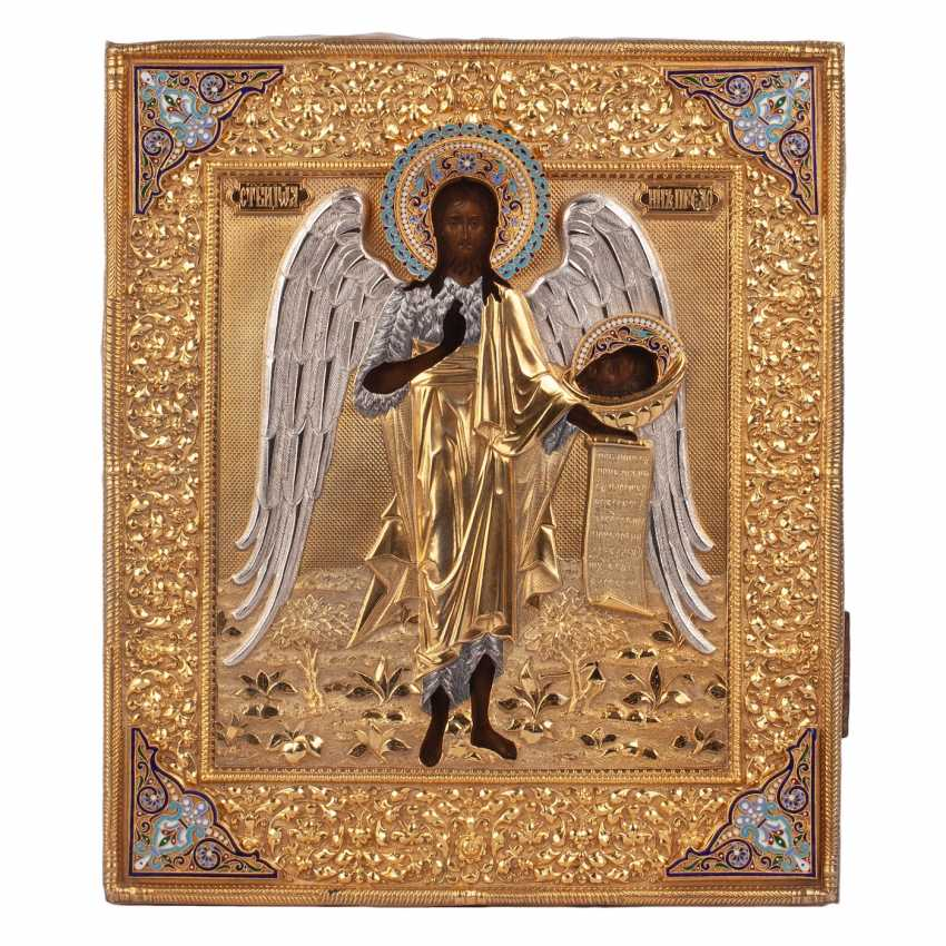 """Russian icon """"Saint John Baptist"""" - photo 1"""