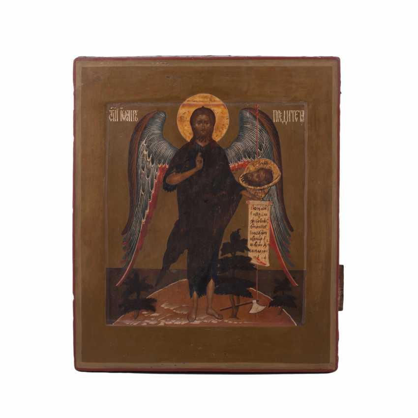 """Russian icon """"Saint John Baptist"""" - photo 5"""