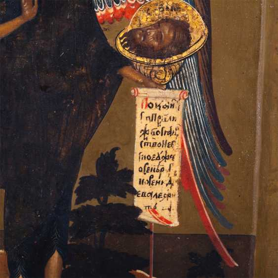 """Russian icon """"Saint John Baptist"""" - photo 6"""