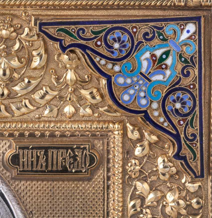 """Russian icon """"Saint John Baptist"""" - photo 7"""