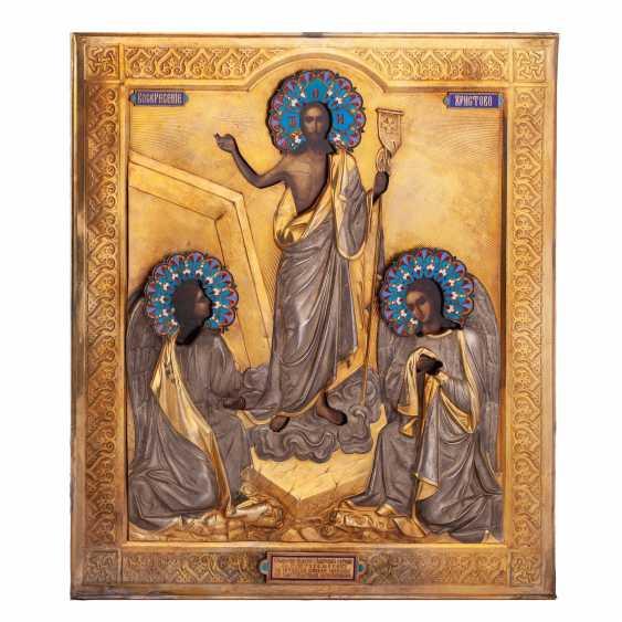 "Russian icon ""Resurrection of Christ"" - photo 1"
