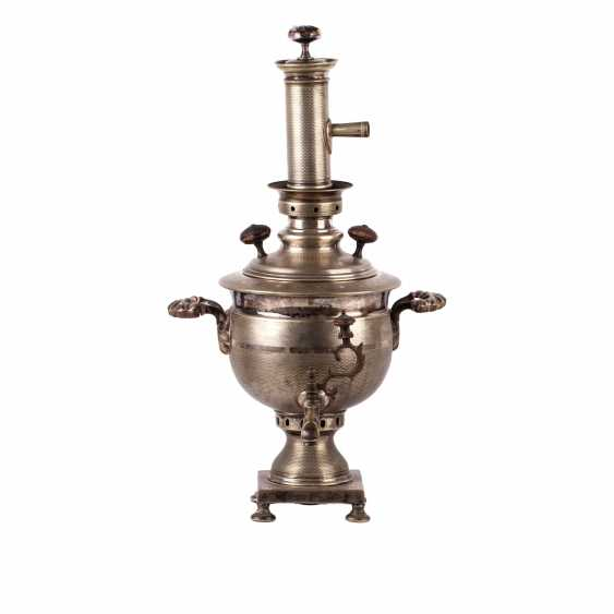 """Samovar """"vase"""" with a pipe - photo 1"""