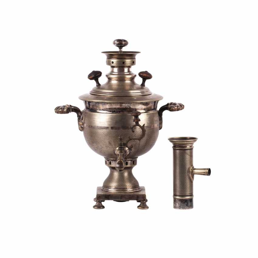 """Samovar """"vase"""" with a pipe - photo 2"""