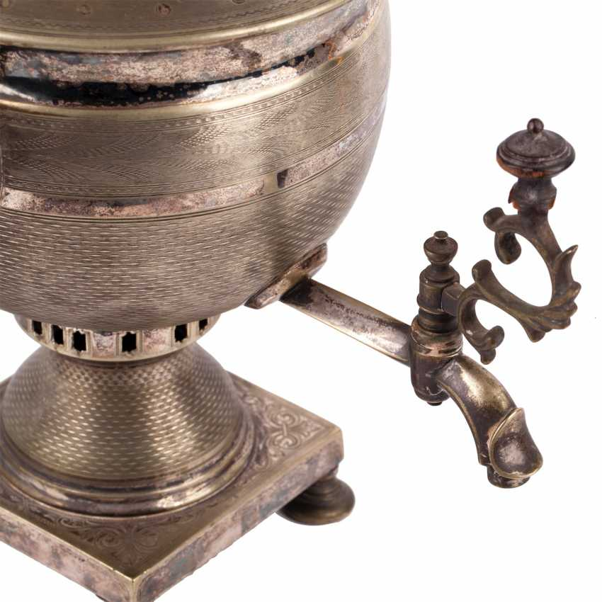 """Samovar """"vase"""" with a pipe - photo 6"""