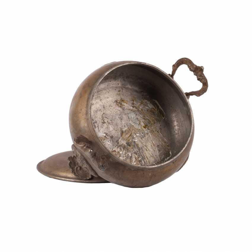 Russian metal dish - photo 4