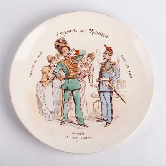 Set of 12 porcelain plates - photo 5