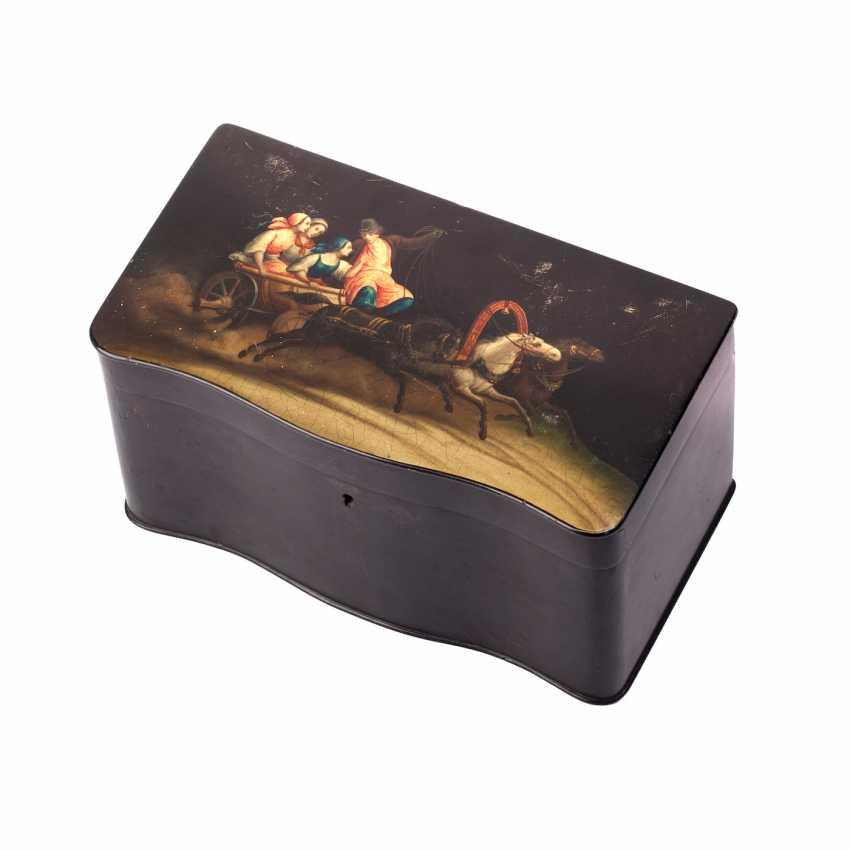 Painted tea box boxes - photo 1
