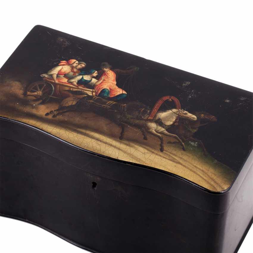 Painted tea box boxes - photo 2