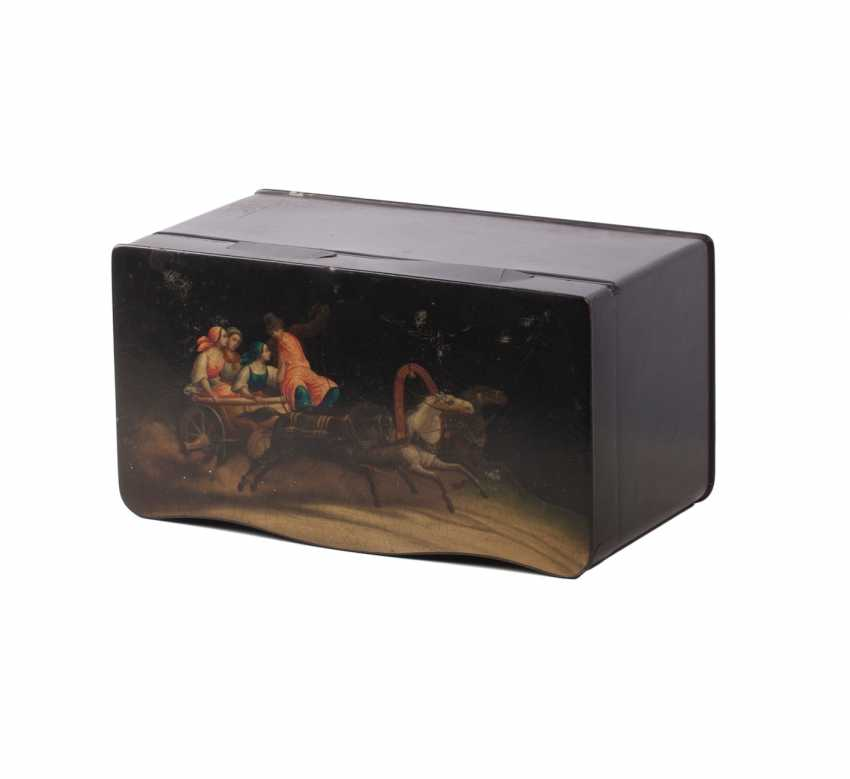 Painted tea box boxes - photo 4