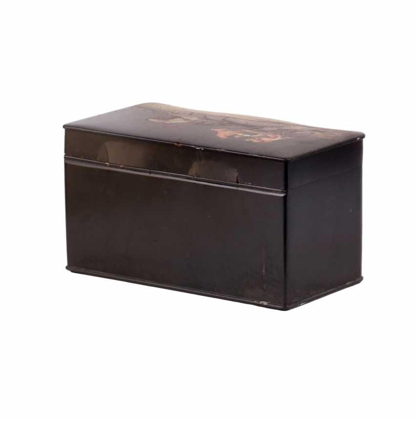 Painted tea box boxes - photo 9