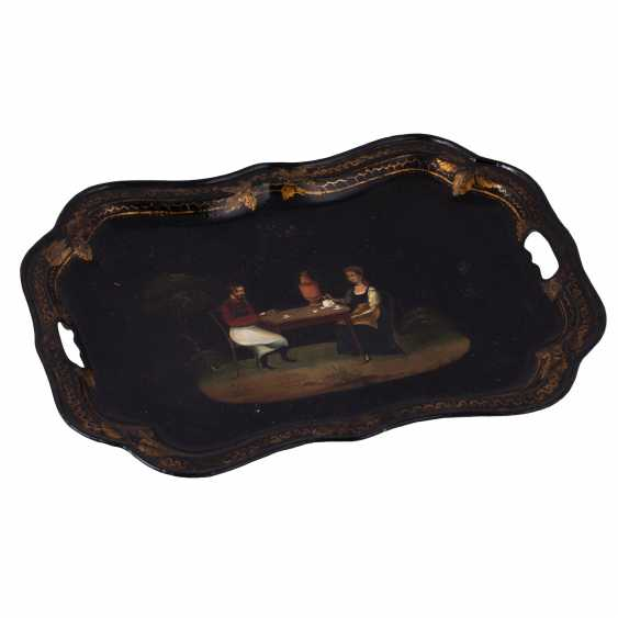 Russian painted tray - photo 3