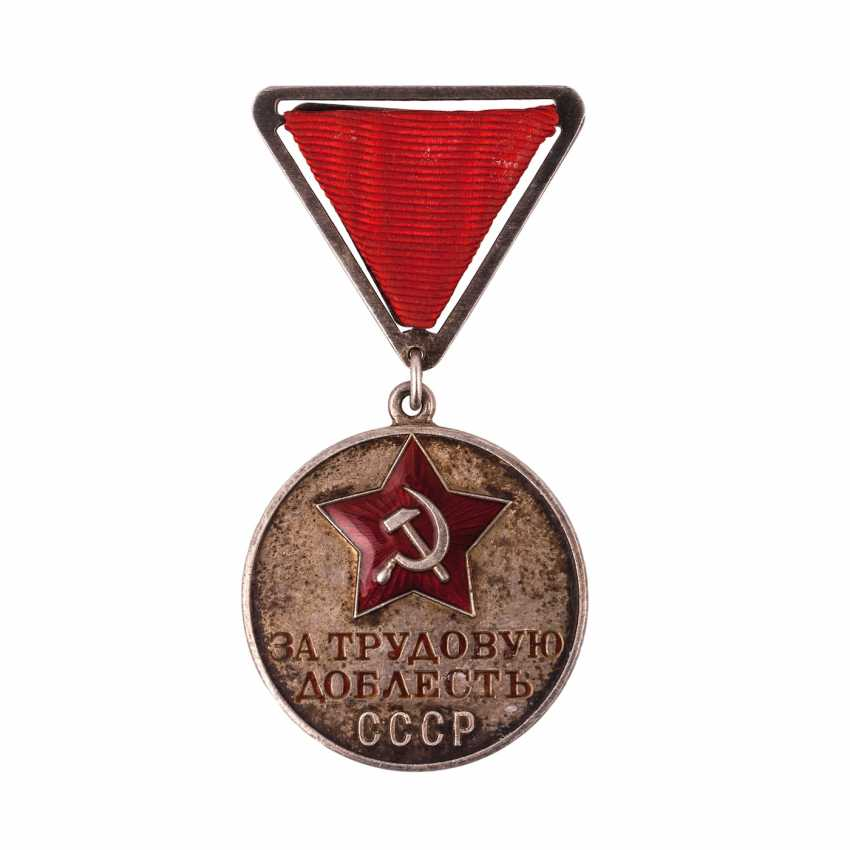 "Medal ""For labour valour"" - photo 1"