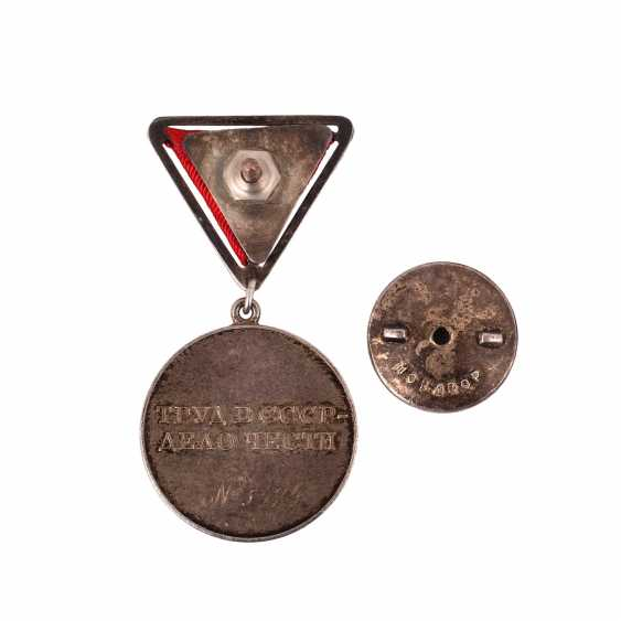 "Medal ""For labour valour"" - photo 2"