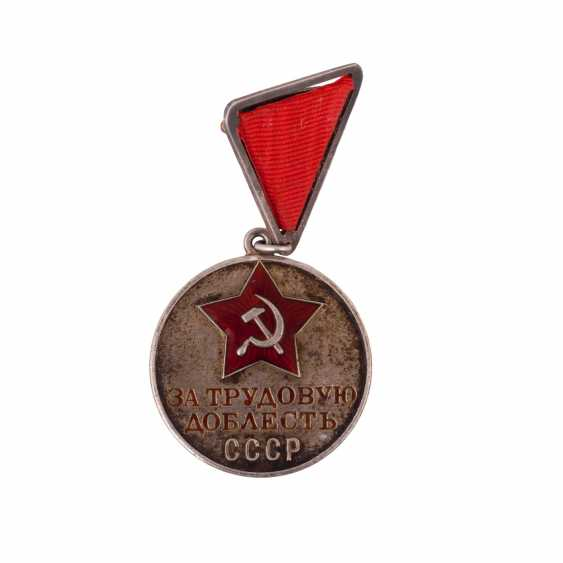 "Medal ""For labour valour"" - photo 3"