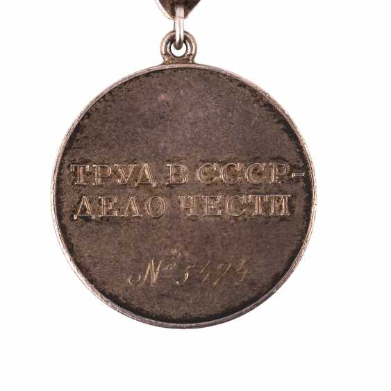 "Medal ""For labour valour"" - photo 4"
