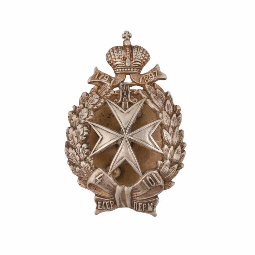 Sign 101st Perm infantry regiment - photo 1
