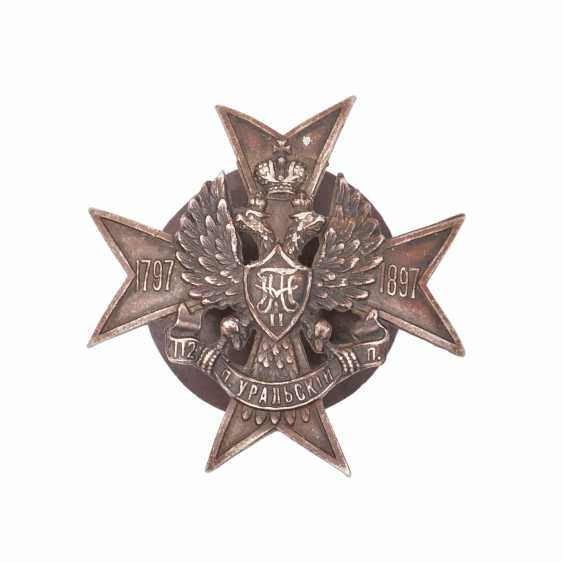 Sign of the 112th Ural infantry regiment - photo 1