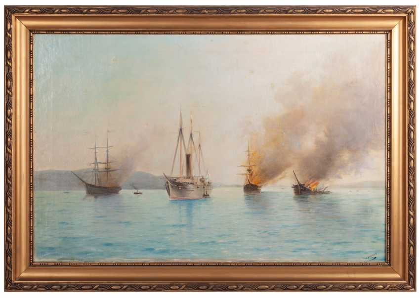 Blinov L. D. a copy of a painting Lagorio - photo 1