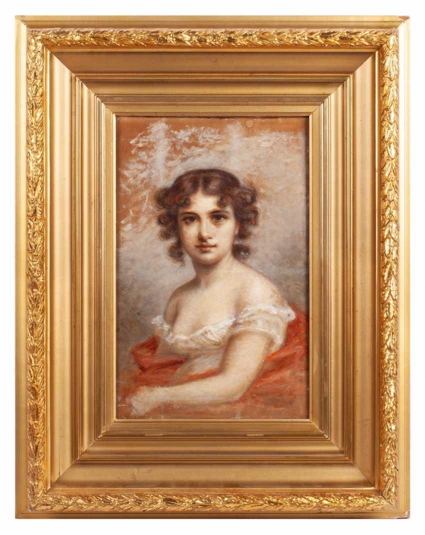 "Chumakov F. P. ""portrait of a girl"" - photo 1"