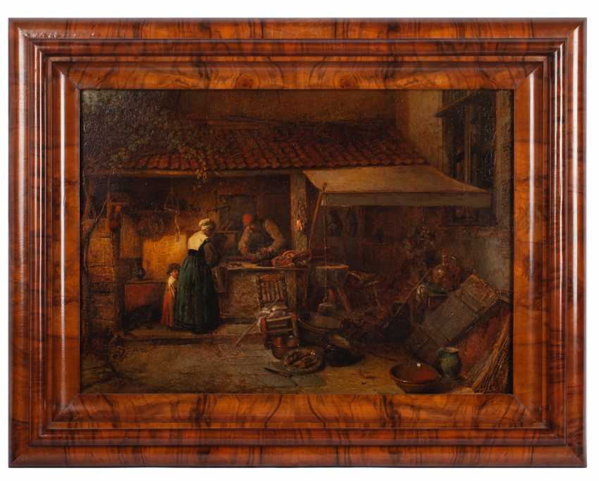 "Jan August Hendrik leys ""butcher's Shop"" - photo 1"