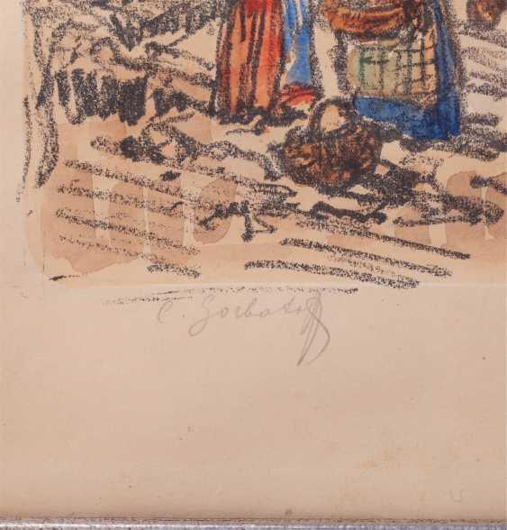 Горбатов К. И. «Уличные сцены в Капри» - фото 2