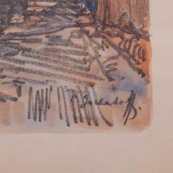"""Gorbatov K. I. """"a Street scene in Capri"""" - photo 3"""
